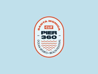 Pier 360 Badge badge logo