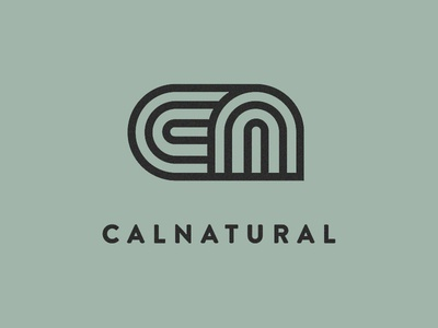 Calnatural Logo logo greenhouse garden weed