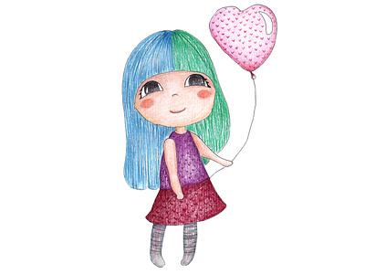 Девочка child childrens book упаковка магазин minimal branding childrens illustration flat cute детская девушка девочка
