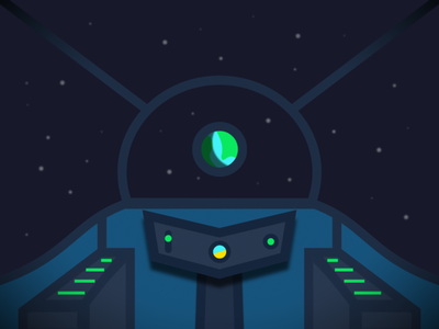 A new frontier illustration space vector