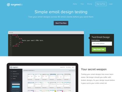 Targeted.io Landing Page