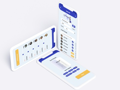 Spilt Bill App app design figma app ux ui flat