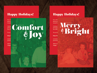 Family Holiday Cards 1
