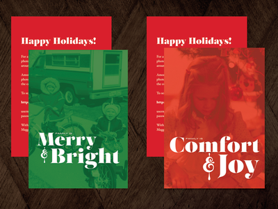 Family Holiday Cards 2