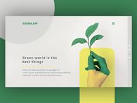 Greenleaf Header Concept