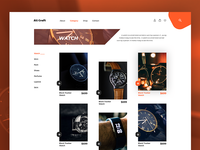 Category Page Design