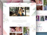 Women Fashion Web UI