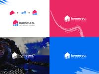 Homesea Logo Design