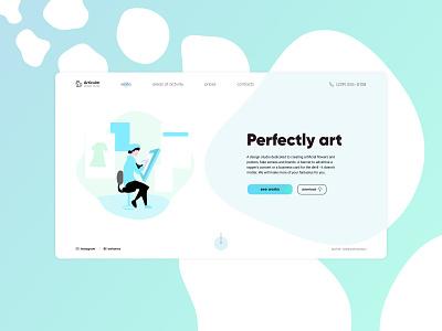 ARTICULAR | design studio art design art uidesign uiux ui studio design