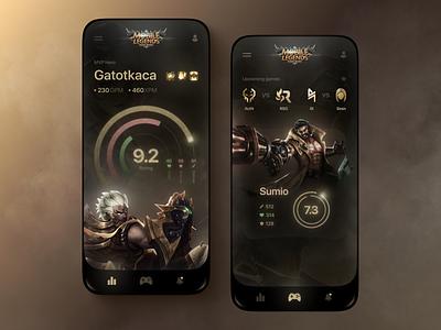 Game App game mobile legends games app game app design mobile app design mobile app design uiux ui mobile app ux