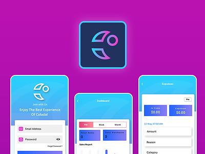 Application Design illustration web design ux ui