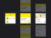 PagesJaunes Android Wear app WIP