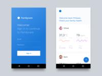 Familycare App Concept