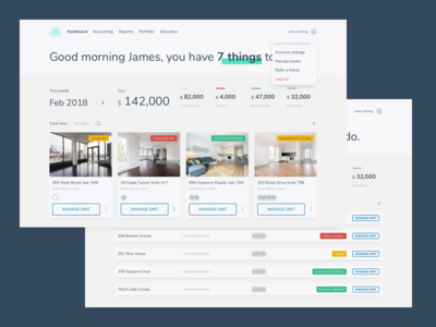 Some UI Updates in the works property management rental ui