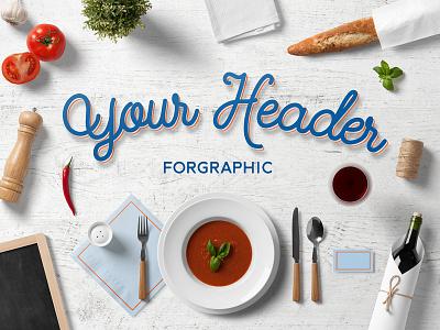 Restaurant & Food Branding Mock Up logo template brand mockup psd hipster bar craft vintage minimalist kitchen free
