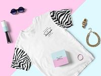 Fashion PSD T-Shirt Mockup