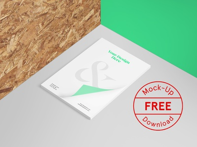Free Letterhead PSD Mockup icon texture wood mockups template label badge a4 identity branding stationery logo
