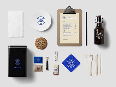 Coffee Bar Mockup drink packaging branding beer identity food coffee bar menu template logo