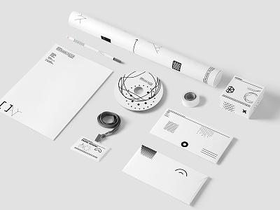 Stationery Branidng Mockup identity branding stamp logo template mockup brand minimalist portfolio elements modern corporate