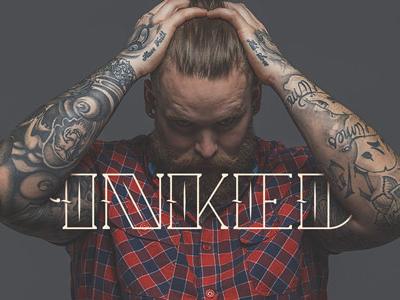 Tattoo Free Font typeface tattoo branding logotype freebie letters typography logo bold free font