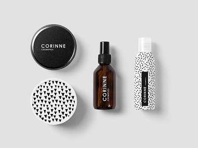 Cosmetics PSD Mockup identity branding can logo template mockup brand minimalist portfolio box modern corporate
