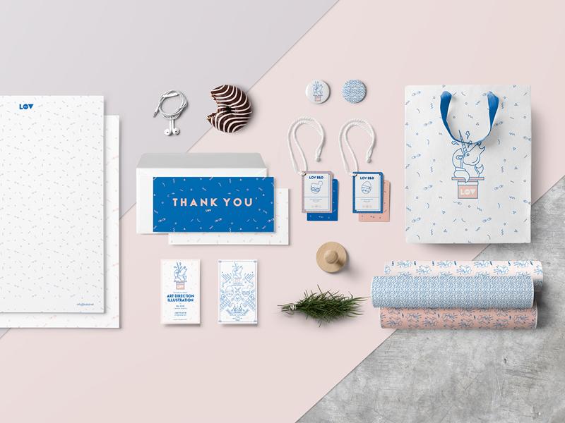Stationery Mockup icon portfolio stationery packaging branding card business identity fashion template logo