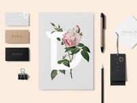 Stationery Mockup illustration template mockup website minimal webdesign ux ui branding identity logotype logo