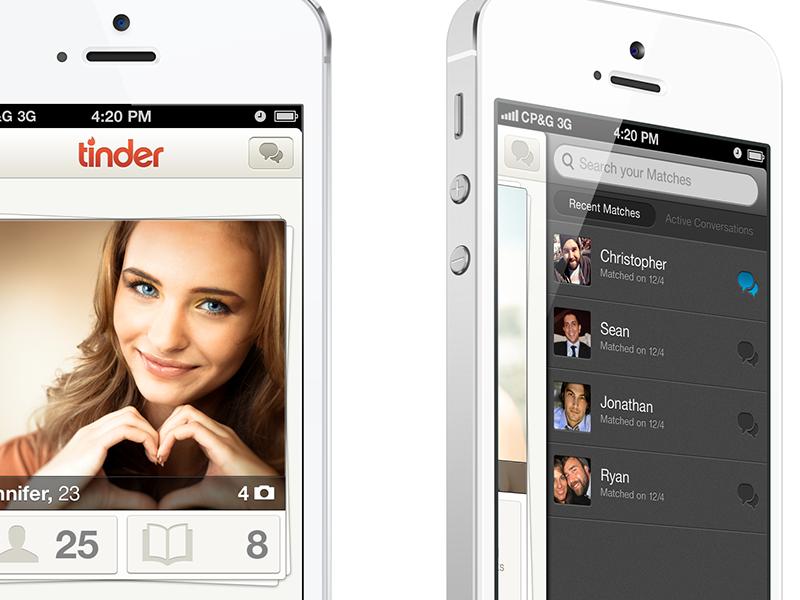 Tinder V2 christopher paul tinder v2 ui iphone ux ios apple dating social discovery boobies menu navigation
