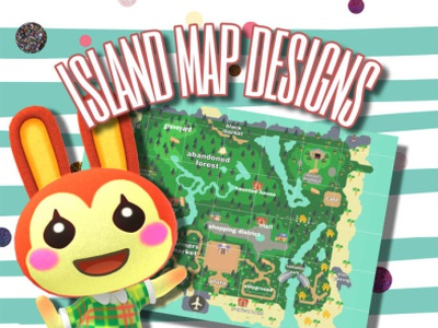 I will design the animal crossing island map of your dreams animals game design android app app design logo design design game disney animal crossing animal design animal