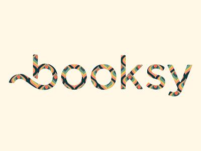 Booksy vintage logo branding weeklywarmup vector illustration illustrator graphicdesign vector