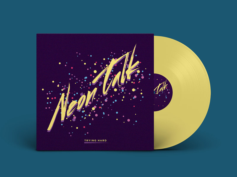 80s Colored Vinyl Album Cover by Top That - Dribbble