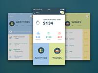 PocketPiggy design - App for managing kid's finance