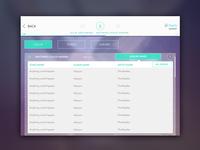 Peelty - design for Music App
