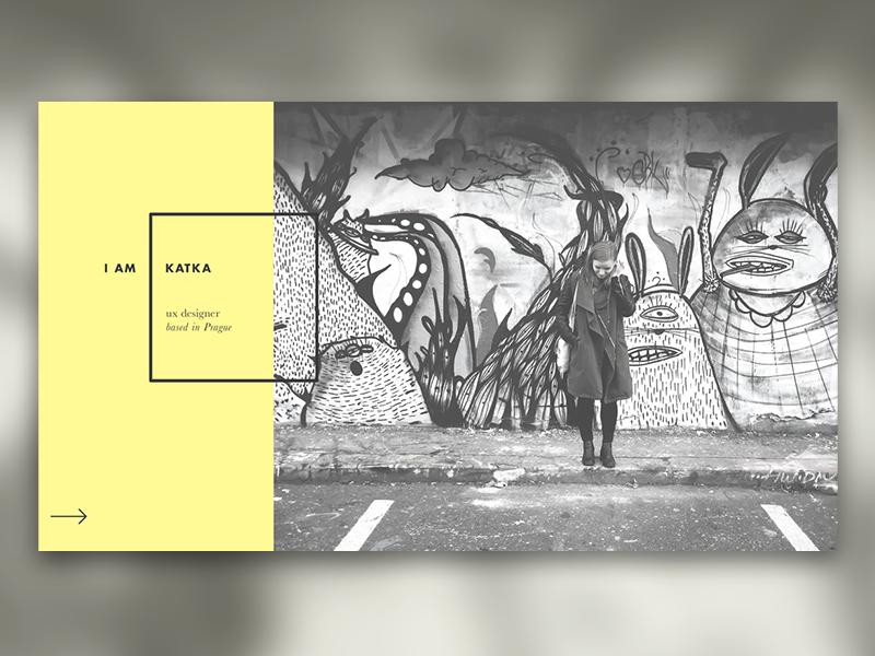 Portfolio idea  grid webdesign uxdesign uidesign portfolio minimal vanillla simple clean flat