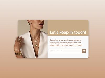 Daily UI #026 - Subscribe ui design ui design uidesign figma daily ui challenge dailyuichallenge daily ui dailyui 100 days of ui 100daysofui
