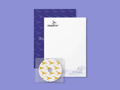 Letterhead letterhead airplane logo branding airline