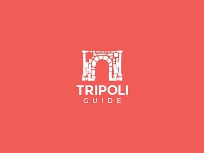 Logo guide tourism branding logo