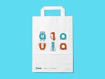 Bag  laundry bag branding logo