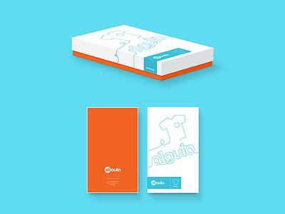 Box laundry box branding logo