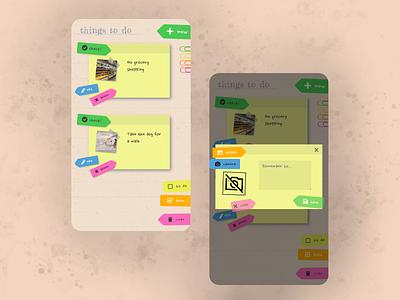 UI for a to-do list app mobile design mobile mobile ui web ux ui design