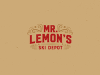 Mr. Lemon's Ski Depot Logo