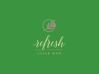 Refresh Juice Bar Logo