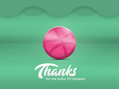 Sup Dribbblers! :) thanks invite dribbble firstshot