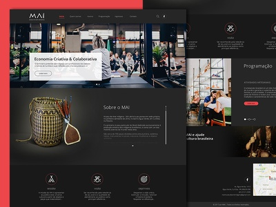 Museum Website - Redesign user experience user interface ux ui website redesign