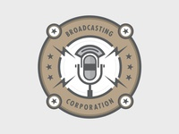 Broadcasting Corporation Badge