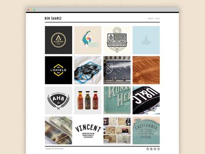 New Portfolio Site portfolio web squarespace