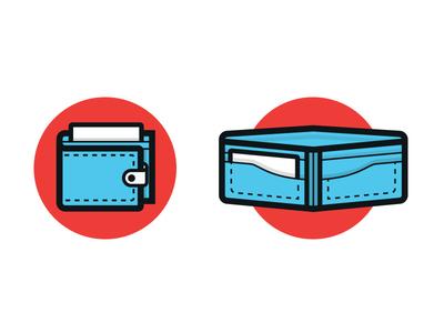 Wallet Icon wallet illustration