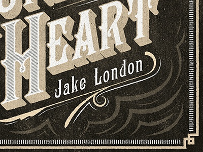 Runaway Heart: CD Cover- Black & Gold texture vintage retro cd type typography hand lettering gold black white grunge cd cover