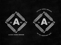 Aussie Home Brewer: Logo Design