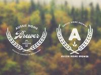 Aussie Home Brewer: Logo Design 4
